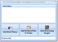 MS Word Extract Images From Multiple Documents Sof screenshot